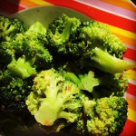 Broccoli! #sillychallenge #100happydays 5/100
