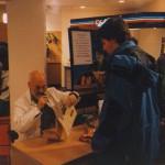 1998 Mr Pratchett signs my map of Lancre. #tbt #rip